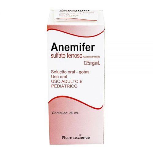 Anemifer 125mg Gotas 30ml