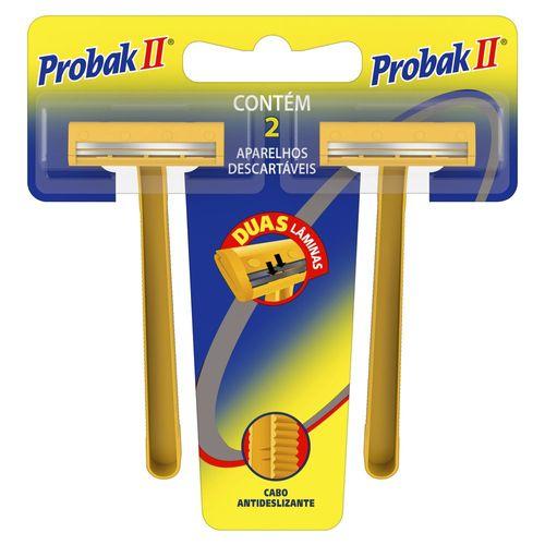 Aparelho Barbear Probak Ii Com 02Un - Gillette Prestob Probak