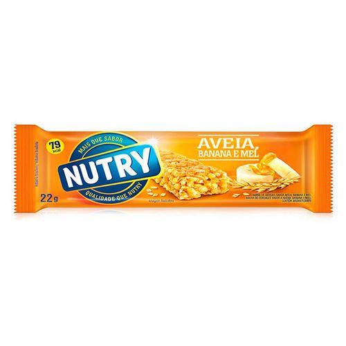 Barra De Cereais Nutry Aveia Banana Mel 22G - Nutry