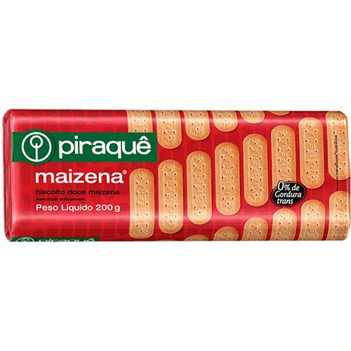 Biscoito Piraque Maizena 200G - Piraque