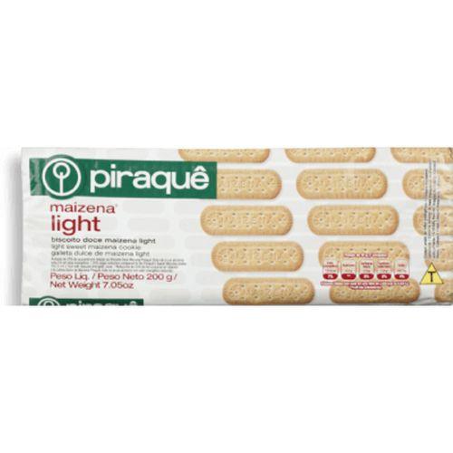 Biscoito Piraque Maizena Light 200G - Piraque