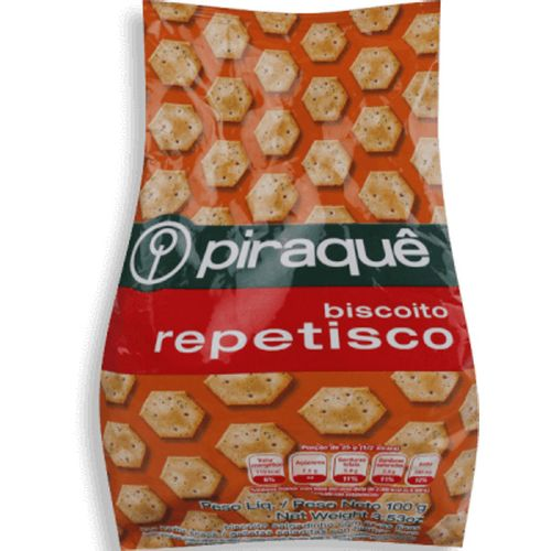 Biscoito Piraque Petisco 100G - Piraque