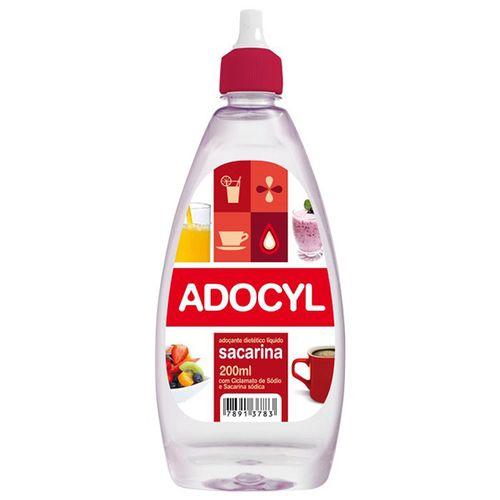Adoçante Adocyl Líquido 200Ml - Adocyl