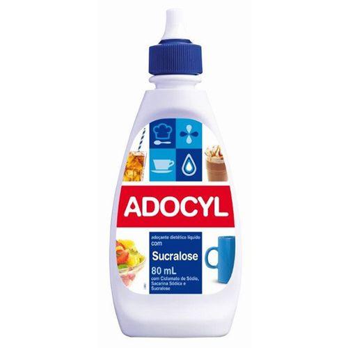 Adoçante Adocyl Sucralose Líquido 80Ml - Adocyl