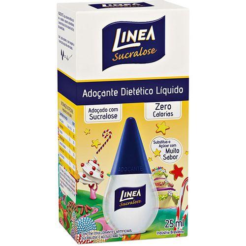 Adoçante Linea Sucralose Líquido 25Ml - Linea