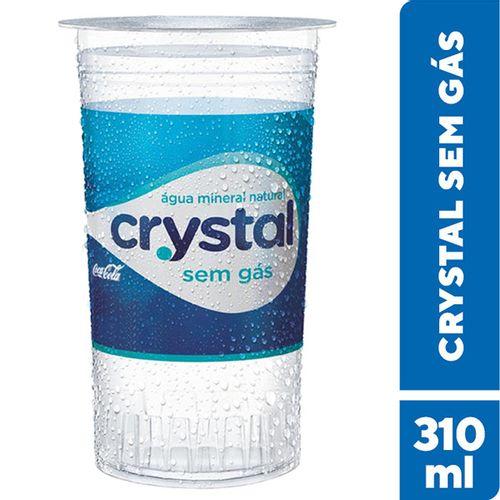 Água Crystal Copo 310Ml - Crystal