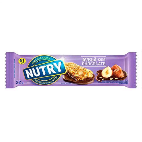 Barra De Cereais Nutry Av/Chocolate 22G - Nutry