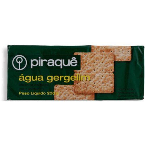 Biscoito Piraque Água Gergelim 240G - Piraque