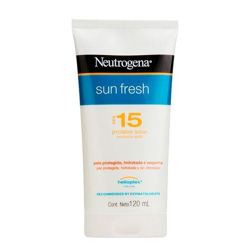 Neutrogena S/Fresh Loção Fps15 120Ml - Sun Fresh