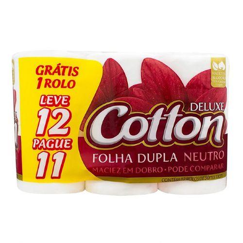 Papel Higiênico Cotton Neu Lv12 Pg11 - Cotton