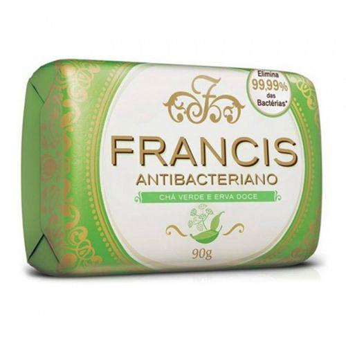 Sabonete Francis Suave Verde/Erva-Doce 90G - Francis