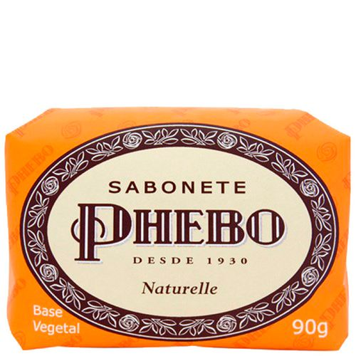 Sabonete Phebo Naturelle 90G - Phebo