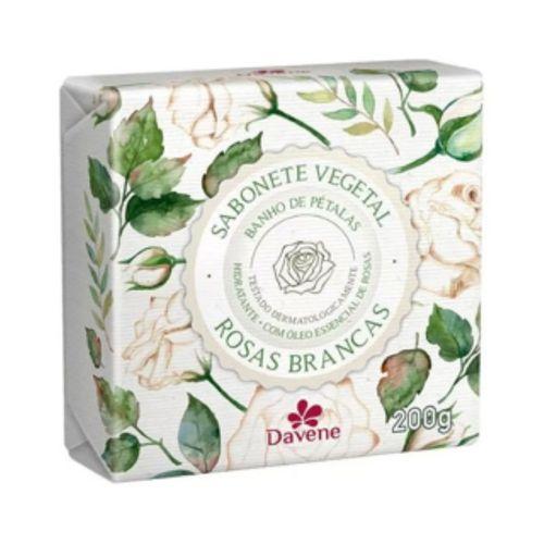 Sabonete Veg Rosa Branco 200G - Davene