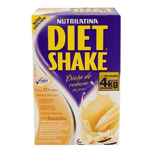 Shake Diet Shake Tradicional Baunilha 400G - Diet Shake