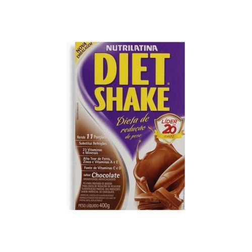 Shake Diet Shake Tradicional Chocolate 400G - Diet Shake