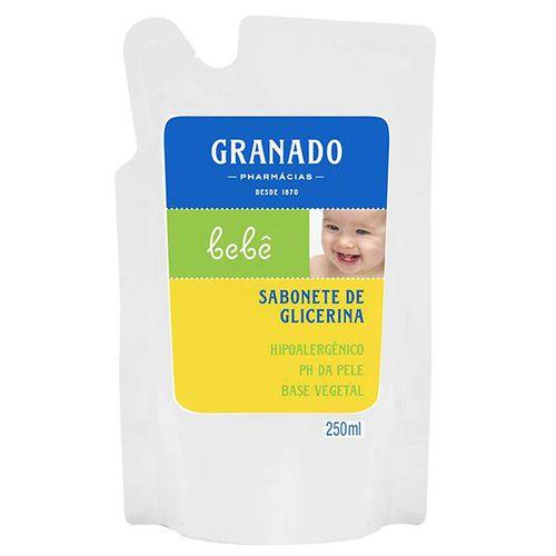 Ref Sabonete Líquido Granado Bebê Glicerina Tradicional 250Ml - Granado