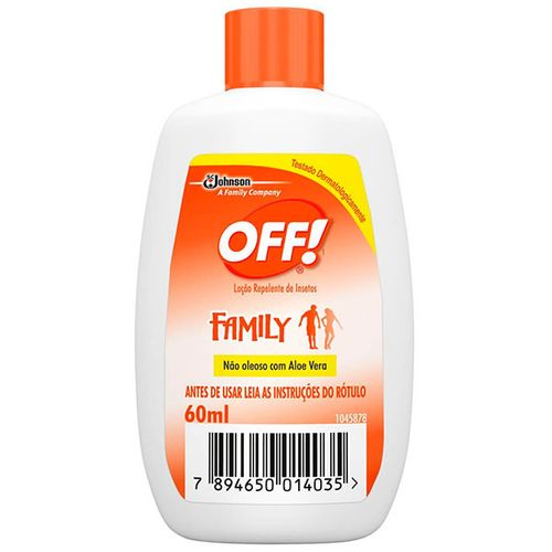 Rep Off Loção 60Ml - Off Repelente