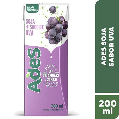 Suco Adesivos Uva 200Ml - Ades