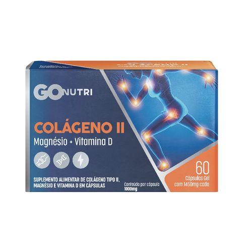 Colágeno Tipo II Gonutri c/ 60 Cápsulas