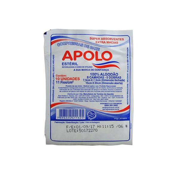 Compressa-Gaze-Apolo-Esteril-10Un---Apolo