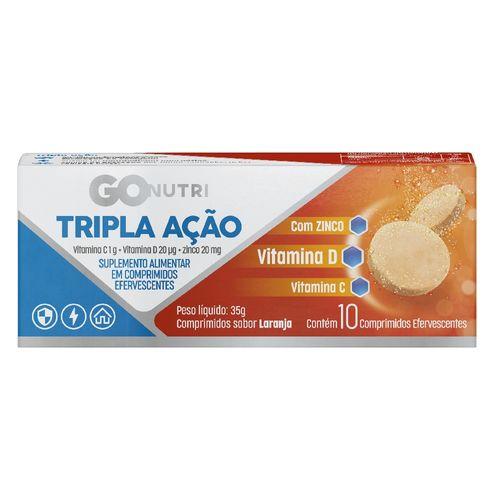 Vitamina C Gonutri Tripla Ação c/ 10 unidades