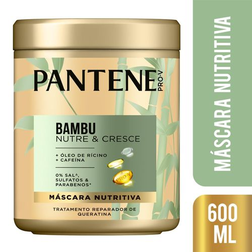 CR TRAT PANTENE BAMBU 600ML