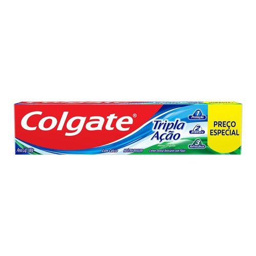 Creme Dental Colgate Tripla Ação Lv180G Pg140G - Colgate Tripla Acao