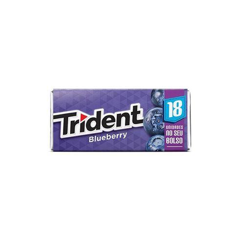 Goma De Mascar Trident Blueberry 18Un 30,6G - Trident