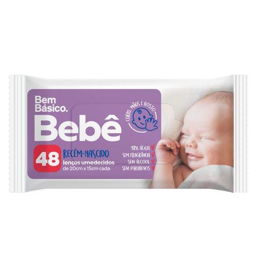 LENCO UMED BEM BASICO BEBE RN C/48