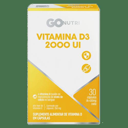 Vitamina D3 2000Ui Gonutri 30 Cpr