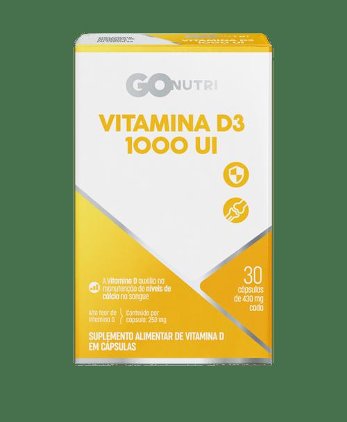 Vitamina D3 1000Ui Gonutri 30 Cpr