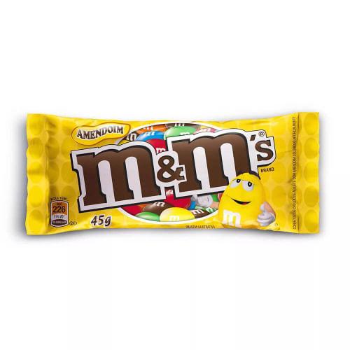 CONFEITO CHOCOLATE MMS AMENDOIM 45G